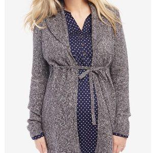 🌟HP🌟Motherhood Maternity tie front cardigan